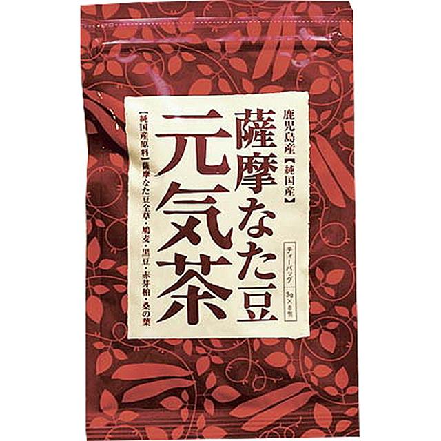 ヨシトメ産業)薩摩なた豆元気茶 3g×8包