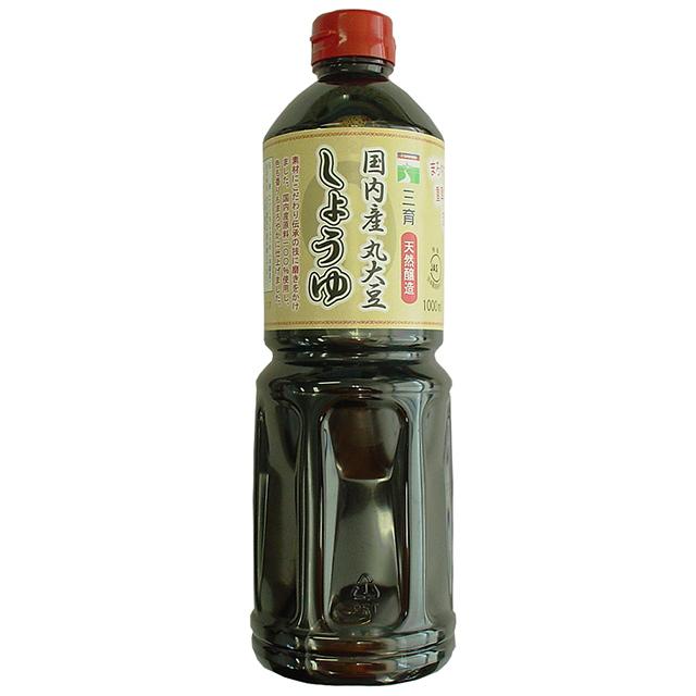 三育)丸大豆しょうゆ 1000ml