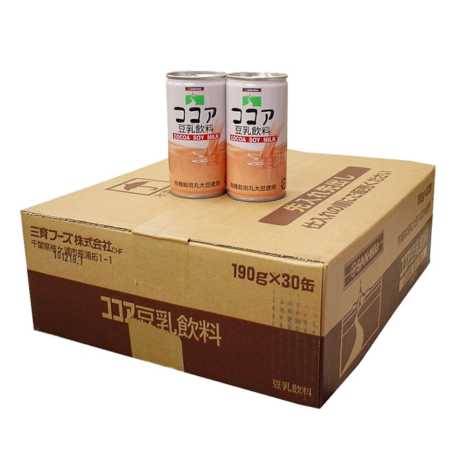 ココア豆乳飲料(ケース割引価格)