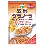 玄米グラノーラ 【朝食フェア5/31迄】
