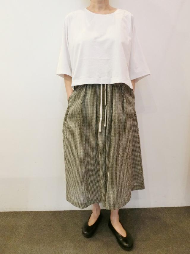BARBARA ALAN:ワイドクロップティーシャツ