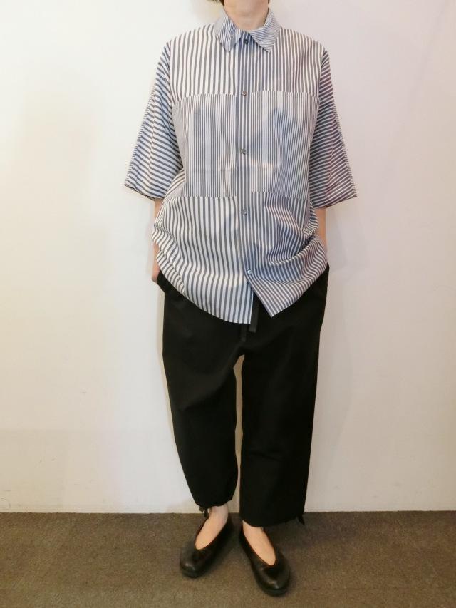BARBARA ALAN:コットンポケットシャツ