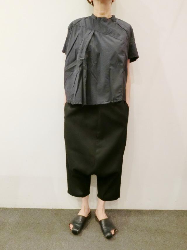 SERIENUMERICA:ショートスリーブボクシーシャツ