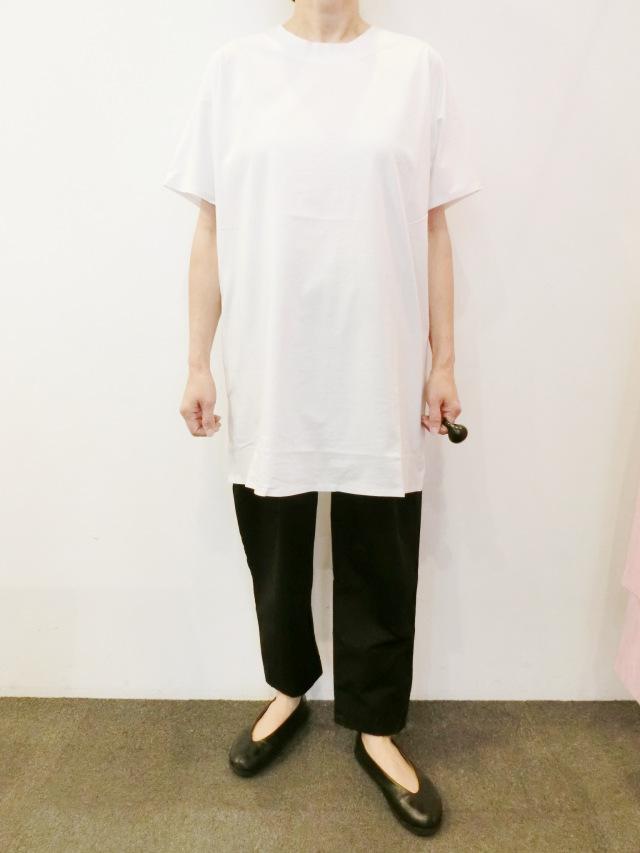 BARBARA ALAN:ダブルカラーティーシャツ