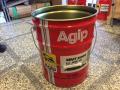 Agipオイル使用済み20Lペール缶
