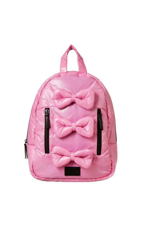 【セブン エイエム アンファン(7AM ENFANT)】キッズ用MiniBowバックパック(ピンク)