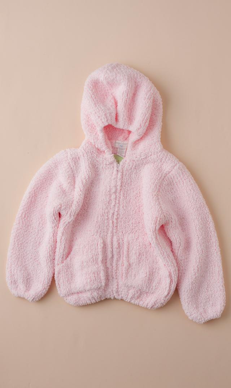【エンジェルディア】シェニールフーデッドジャケット(プリティピンク) 0-2歳