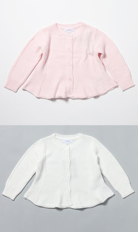 【エンジェルディア 】スウィングカーディガン(2色展開)/6-24ヶ月