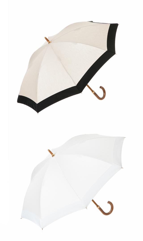 【アシーナニューヨーク(Athena New York)】グログランリボン日傘(全2色)