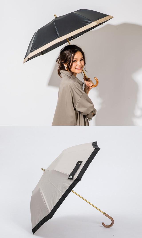 【アシーナニューヨーク】カミラ晴雨兼用折りたたみ傘(2色)