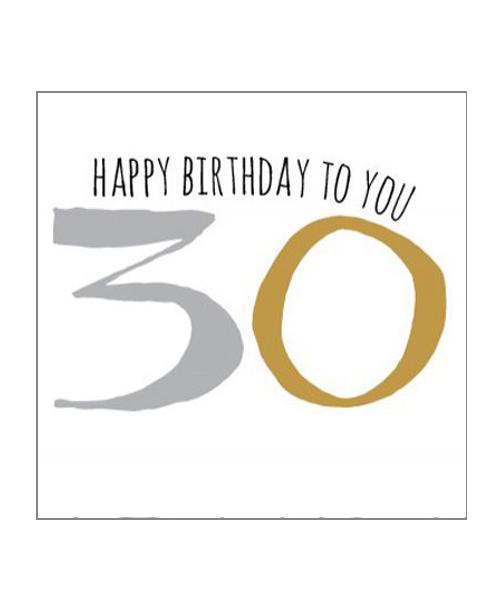 【ベリーボタン】Happy Birthday30