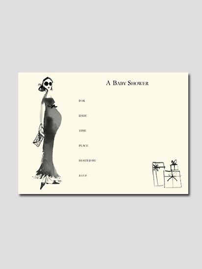 【ボニーマーカスコレクション】グラマーママ・インヴィテーションカードセット(8枚入り)