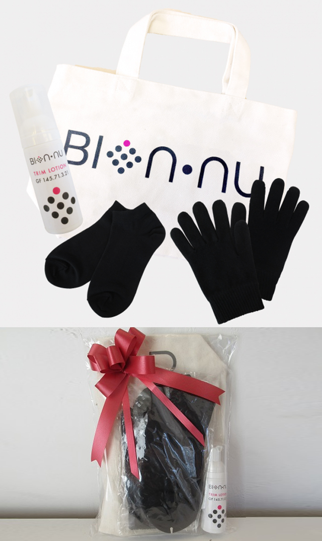 《母の日キャンペーン対象》【ビオンヌ(BIONNU)】 手袋&ソックススペシャルセット/数量限定
