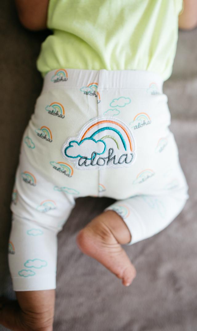 【ココムーン(CocoMoon)】レギンス(Poto'Aloha)6-12ヶ月