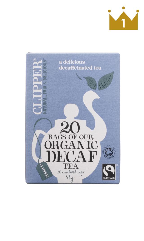 【CLIPPER】カフェインレスオーガニックフェアトレード紅茶(アッサムブレンド)