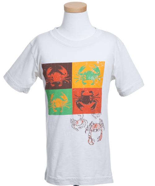 【チャーリー ロケット】マルチクラブTシャツ(ホワイト)
