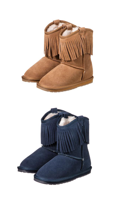 【エミュー(EMU)】GLAZIERS KIDSブーツ(2色展開)/13cm-16cm