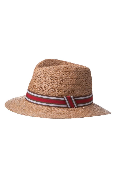 【ハッツアンドドリームス(Hats & Dreams)】ラフィア中折れハット(ナチュラル)