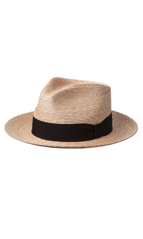 【ハッツアンドドリームス(Hats & Dreams)】中折れストローハット(ブラック)