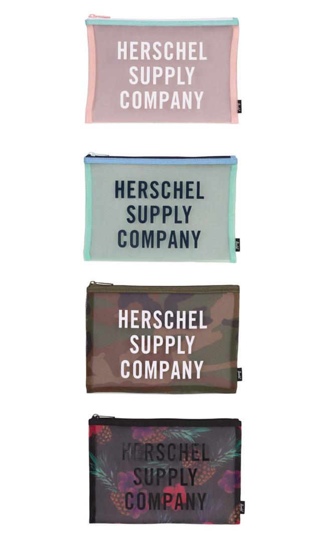 【ハーシェル(Herschel)】ネットワークメッシュポーチ(全4色)