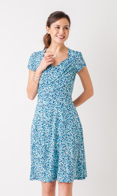 【レオタ(LEOTA)】マタニティ・スウィートハートドレス(ミスティメイ)/同柄子供服あり