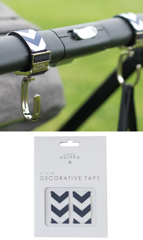 【リッタグリッタ(LITTA GLITTA)】デコレーションテープ(6色展開)