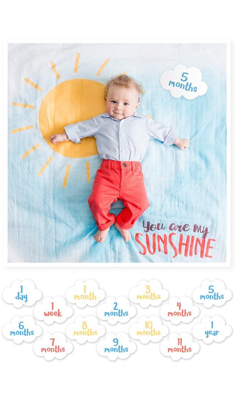 【ルルジョ(lulujo)】マイルストーンカードセット(Sunshine Baby's)