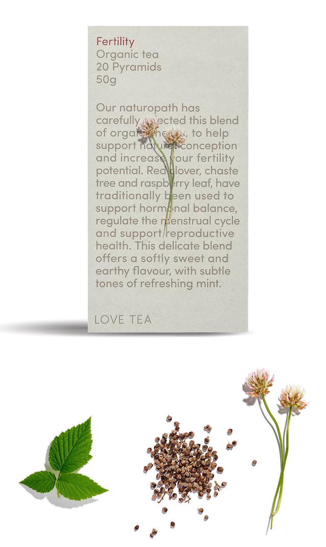 【ラブティー(LOVE TEA)】ノンカフェイン ファティリティ ティーバッグ20個入(妊活・更年期対策)<税率8%>