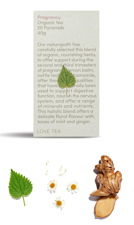 【ラブティー(LOVE TEA)】ノンカフェイン プレグナンシー ティーバッグ20個入(妊娠安定期)<税率8%>