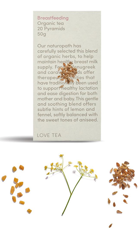 【ラブティー(LOVE TEA)】ノンカフェイン ブレストフィーディング ティーバッグ20個入(授乳期)<税率8%>