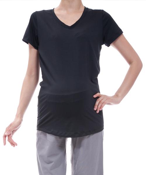 【マウンテン ママ】メッシュTシャツ(ブラック)