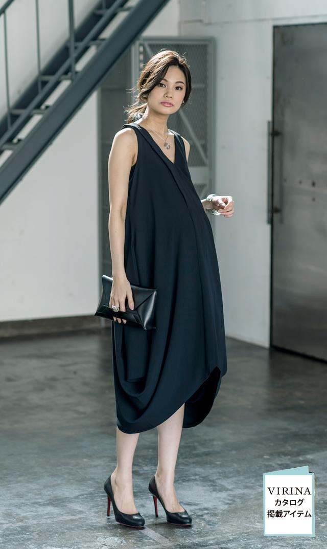 【ミテラ(MITERA)】ケイティナーシングドレス(ブラック)