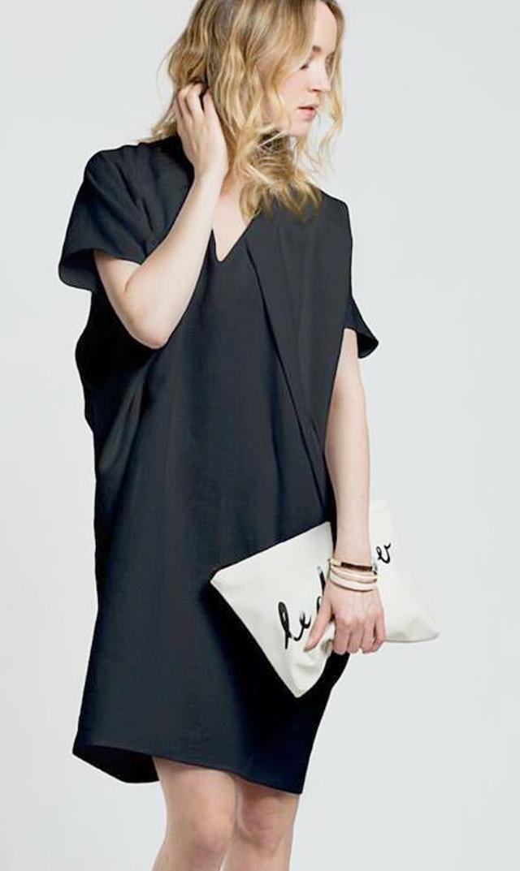 【ミテラ(MITERA)】エリフナーシングドレス(ブラック)