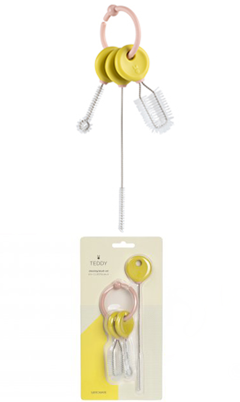 【メロウェア】TEDDY クリーニングブラシセット