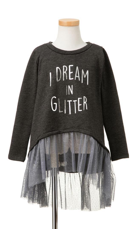 【Ohbaby!(オーベイビー】I dream in Glitterチュチュドレス(チャコール)2-8歳