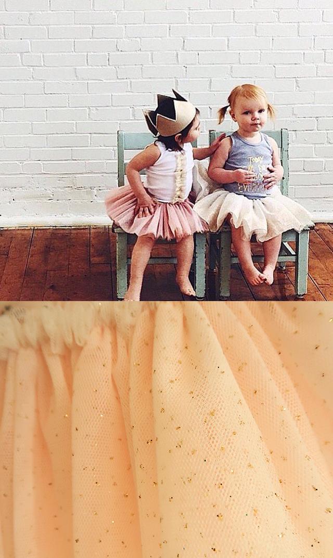 【オーベイビー】フリルチュチュスカート(2色展開)3-8歳