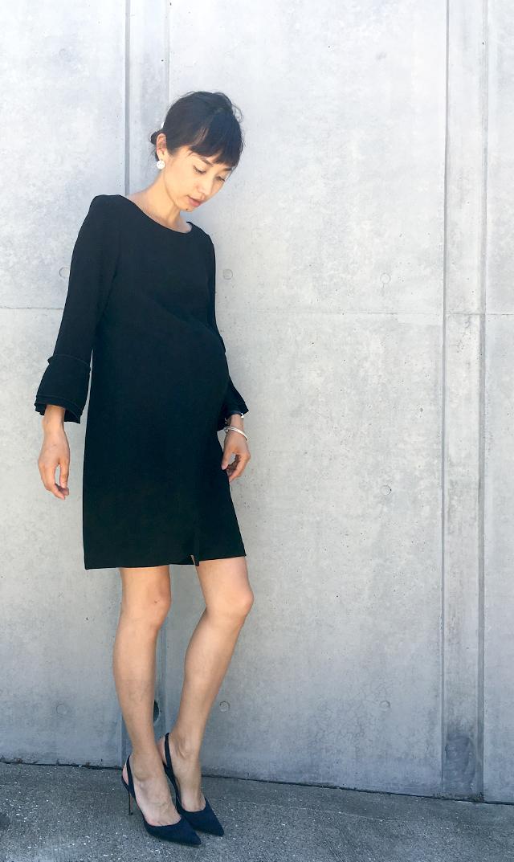 【ピエトロ ブルネッリ(Pietro Brunelli)】ナーシングマルゲリータドレス(ブラック)