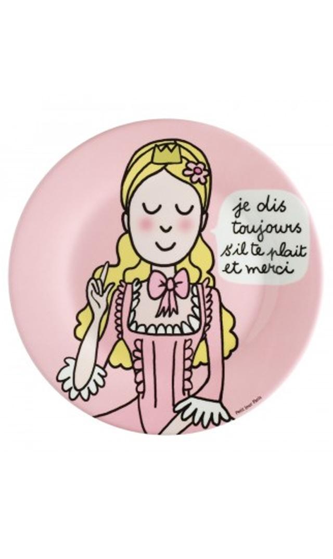 【プチ ジュール パリ(Petit Jour Paris)】メラミンプレート・プリンセス2