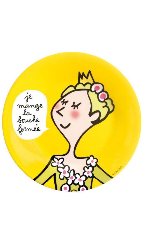 【プチ ジュール パリ(Petit Jour Paris)】メラミンプレート・プリンセス5