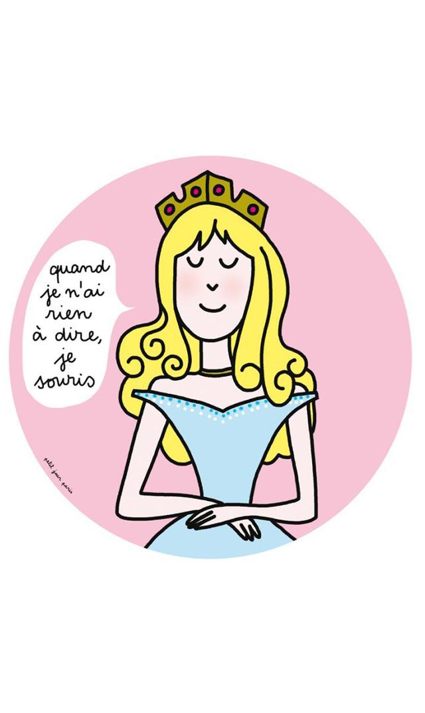 【プチ ジュール パリ(Petit Jour Paris)】メラミンプレート・プリンセス7