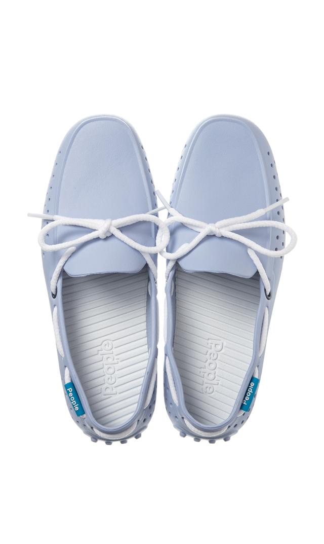 【ピープル フットウェア(People Footwear)】THE SENNA水陸両用デッキシューズ(ライトブルー×ホワイト)