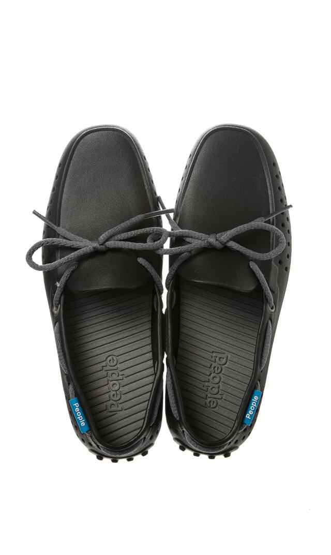 【ピープル フットウェア(People Footwear)】THE SENNA水陸両用デッキシューズ(ブラック×グレー)