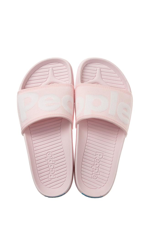【ピープル フットウェア(People Footwear)】THE LENNON SLIDEデッキサンダル(ライトピンク)