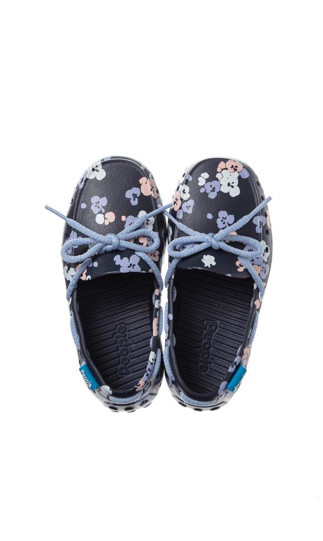 【ピープル フットウェア(People Footwear)】THE SENNA水陸両用レースアップキッズデッキシューズ(パンジー)
