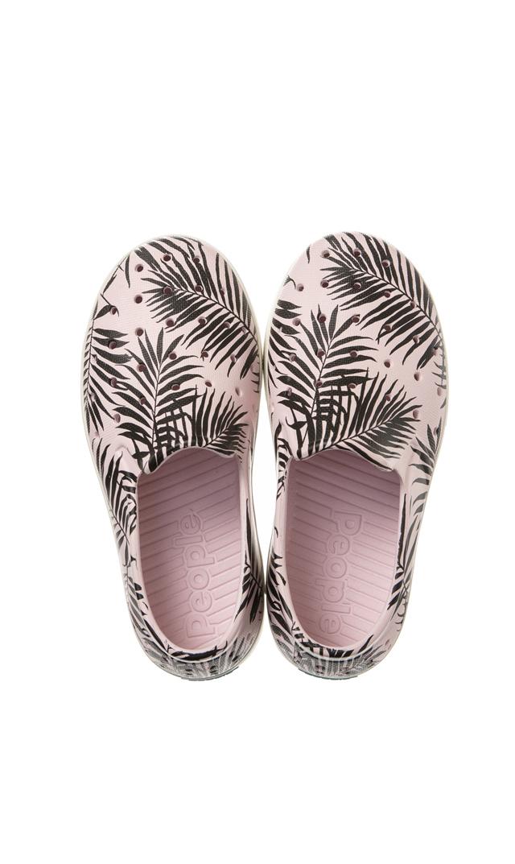【ピープル フットウェア(People Footwear)】SLATER水陸両用キッズデッキシューズ(ピンク×パーム)