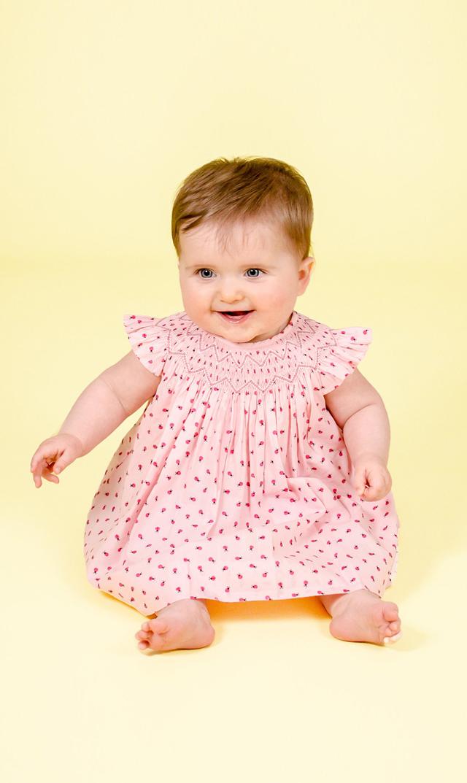 【クエスチョンエブリシング(Question Everything)】Bridgetベビードレス/3ヶ月-24ヶ月