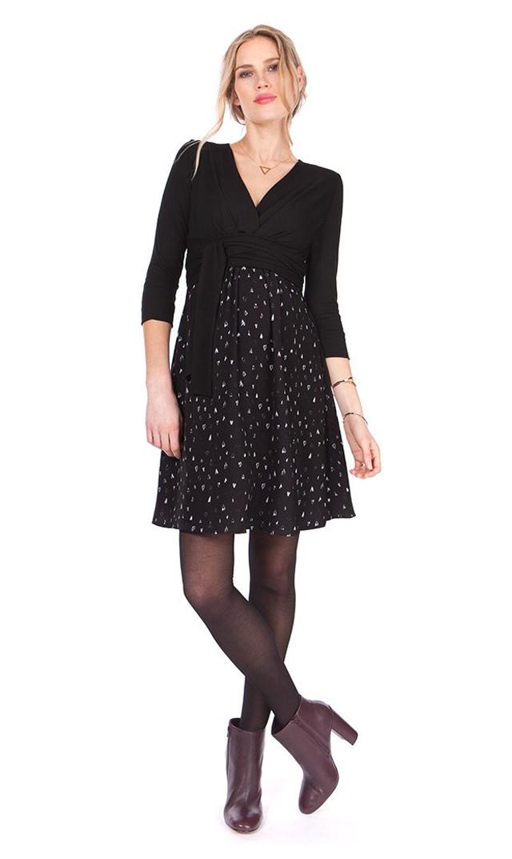 【セラフィン(seraphine)】ラヴデーナーシングドレス(ブラック×ハート)