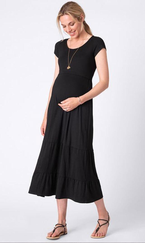 【セラフィン】オリヴィアナーシングドレス(ブラック)[SALE]