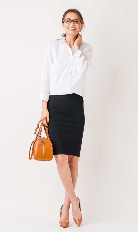【スーン】ビリータイトニットスカート(ブラック)