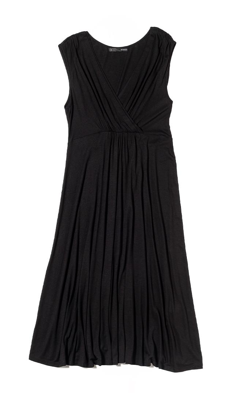 【スーン】リオナーシングドレス(ブラック)[SALE]